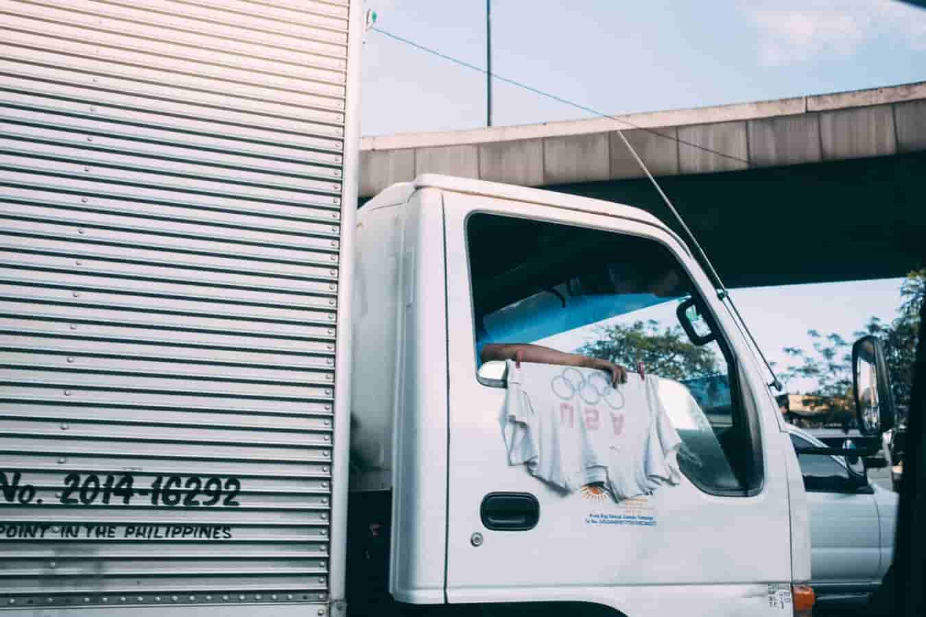 Image | commercial truck parked